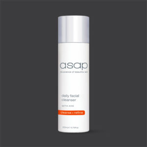 asap Daily Facial Cleanser | Cleanse + Refine| buy online at the Beauty Studio Dunsborough