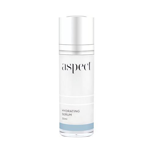 Aspect Hydrating Serum | Hyaluronic acid serum | Beauty Studio Dunsborough. Skin quenching serum to bind moisture and replenish hydration.
